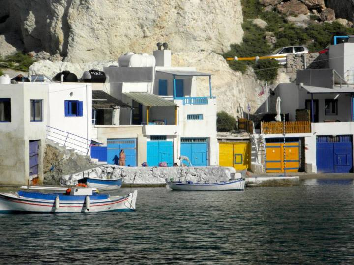 Des garages à bateaux pour les pécheurs