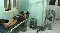 Photo prise dans un hopital a bali pendant un voyage en indonesie