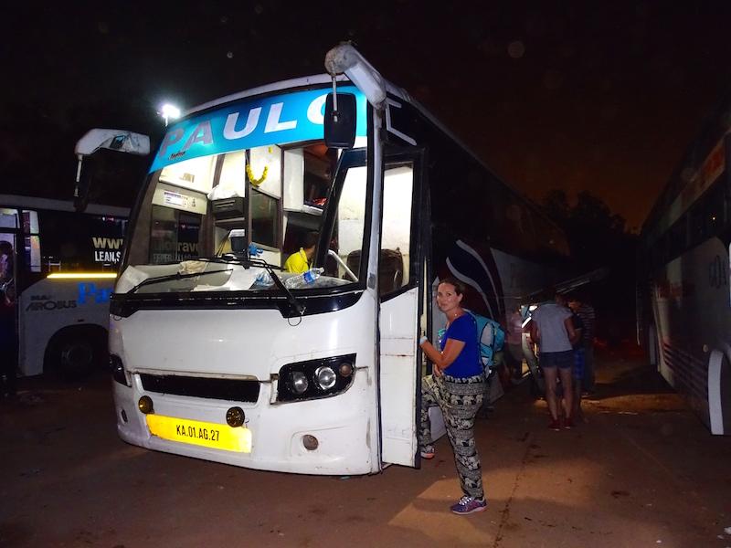 Un bus de nuit en inde