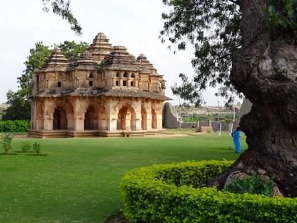 Le harem a Hampi dans le karnataka en inde