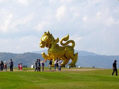 Le parc Singha a chiang rai en thailande