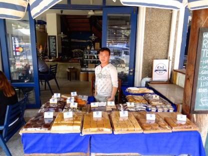 Une boulangerie patisserie francaise a luang rpprabang au laos