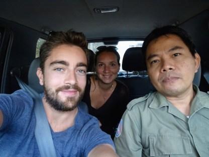 Des auto stoppeurs au Laos