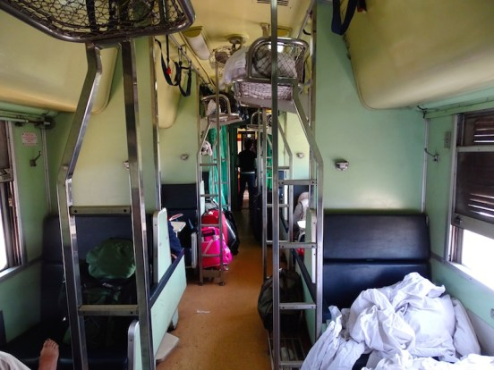 Les trains thaï