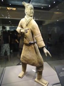 L'archer debout