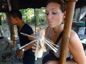 Bambou sticky rice