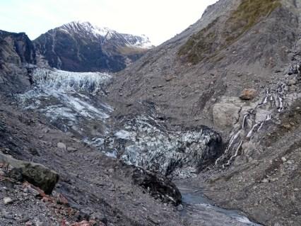 A 400m du glacier.