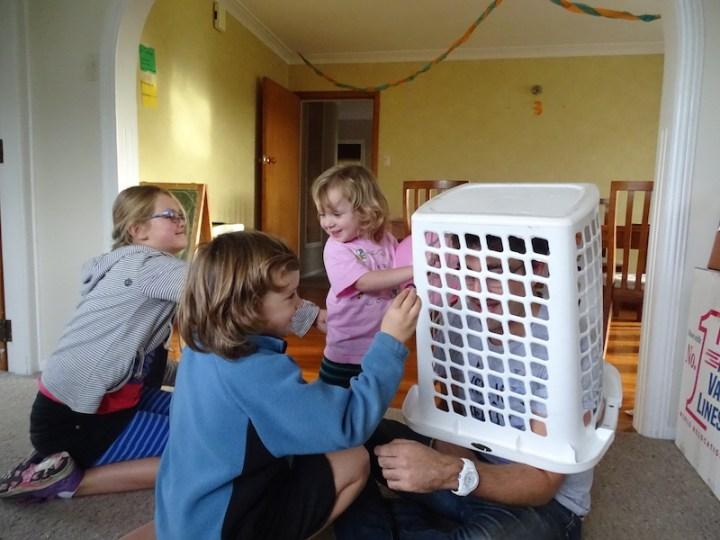 "Romain en ""cage"""