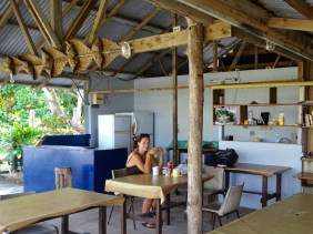La cuisine et salle commune
