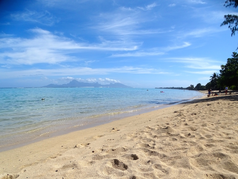 Tahiti nos premiers pas en polyn sie playing the world for Chambre 13 tahiti plage