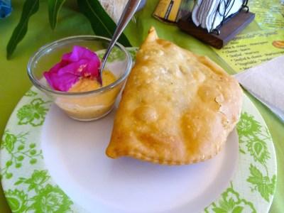 Empanada à l'île de Pâques! Hummm