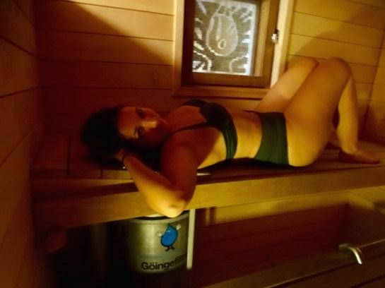 Session sauna