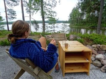 Chill au bord du lac