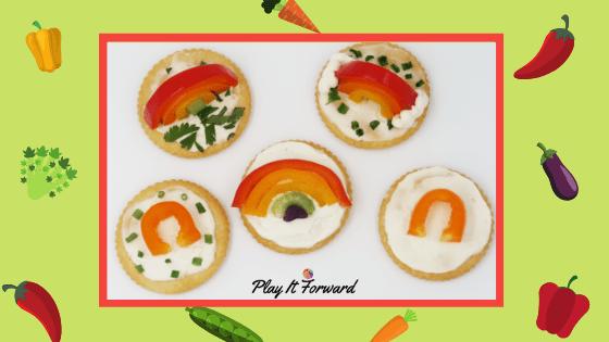 Rainbow Veggie Snack