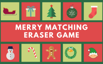 Merry Matching Eraser Game