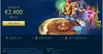 Europa casino CAD