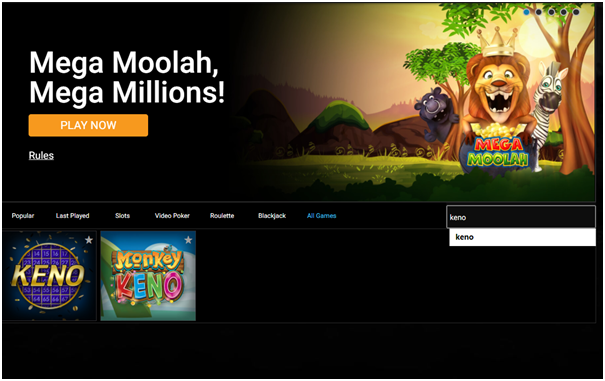 Spin Palace online Canadian casino