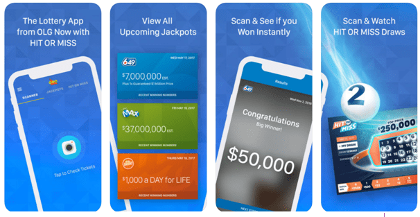 OLg App- Check keno results on mobile