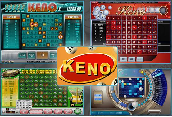 Keno games at Canada