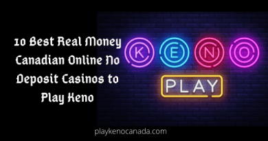 10 Best Real Money Canadian online No Deposit Casinos to play Keno