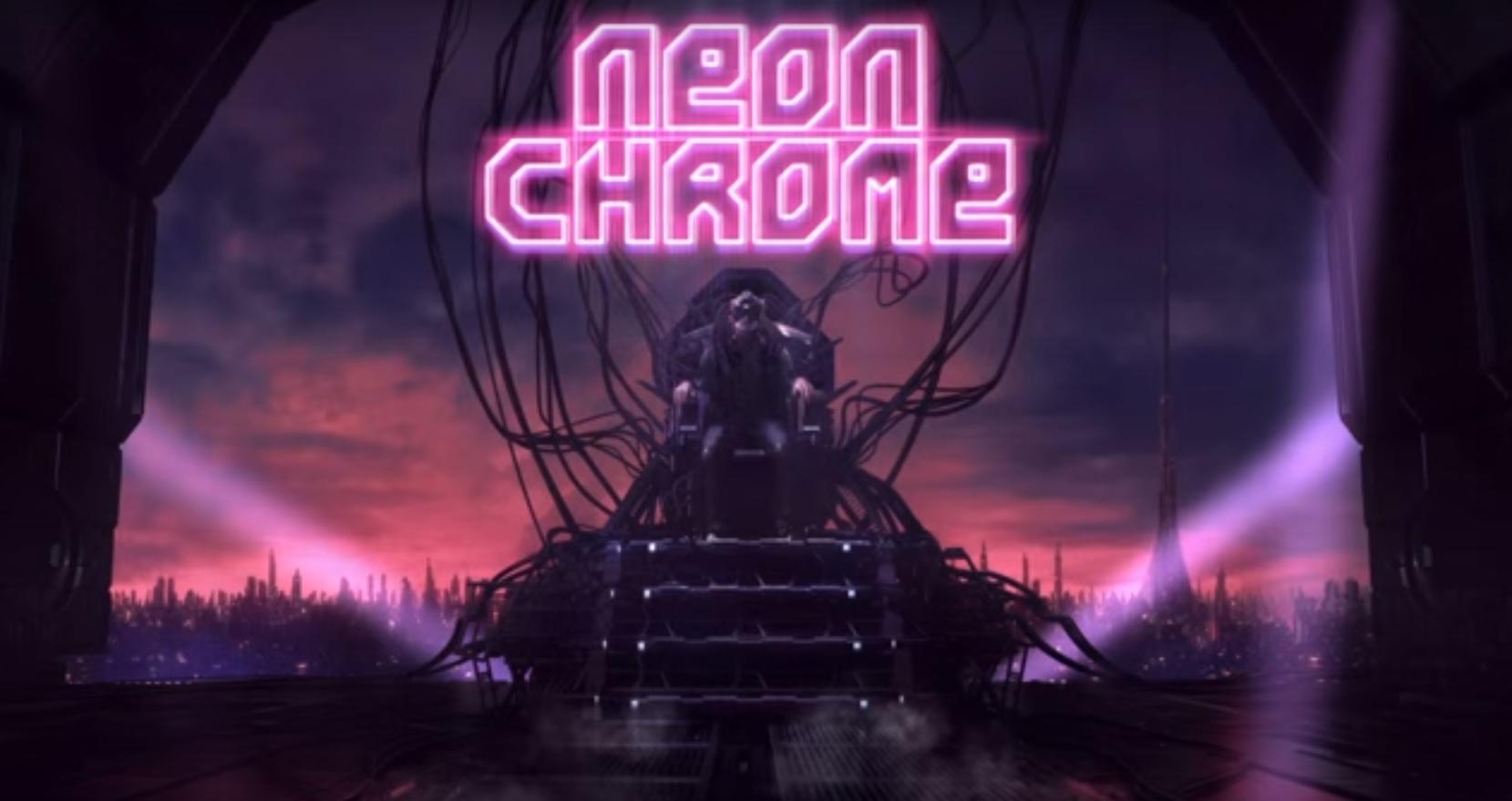 Neon Chrome Action Titel Ballert Sich In Wenigen Tagen Inklusive Cross Buy Auf Die Vita