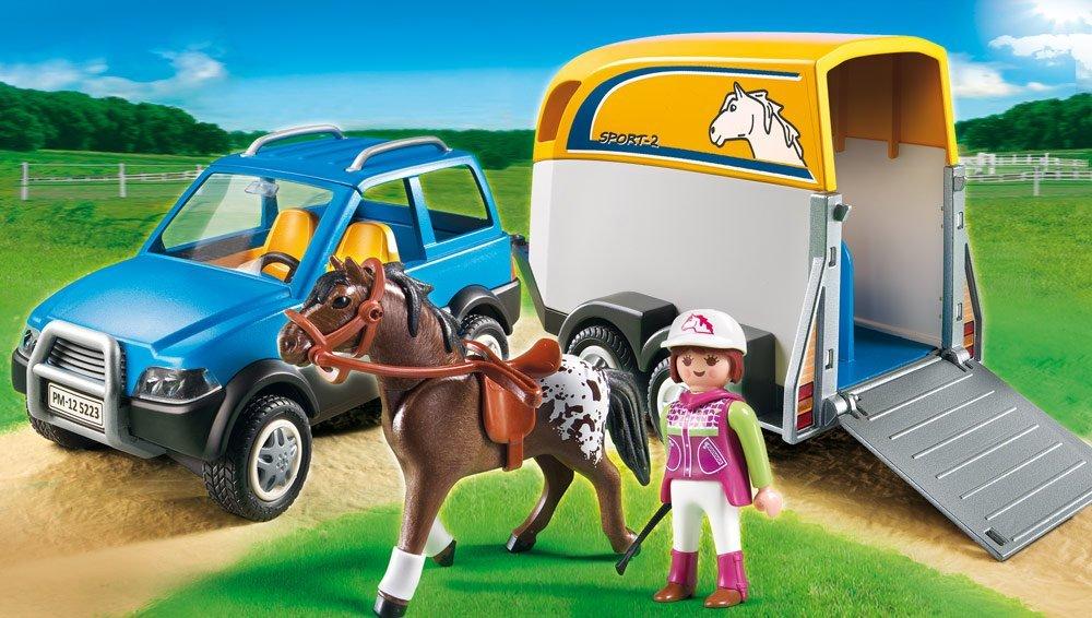 Playmobil Pferdeanhnger Kauf und TestPlaymobil Spielzeug