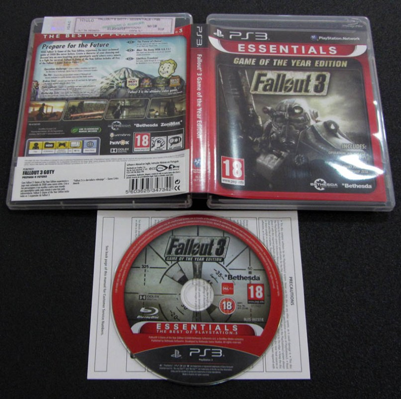 fallout 3 ps3 game of the year | Wajigame co