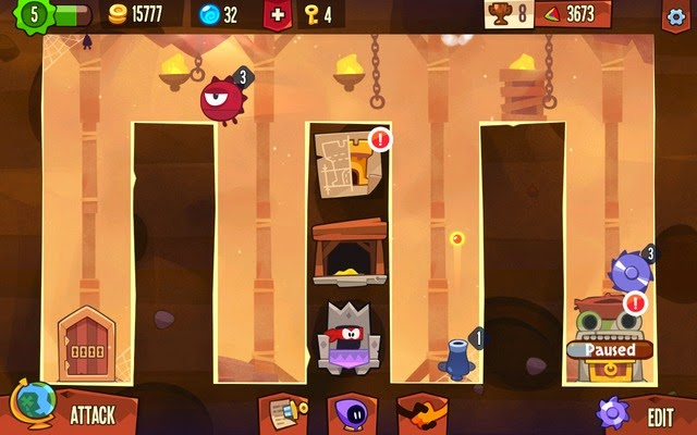 King of Thieves Stage