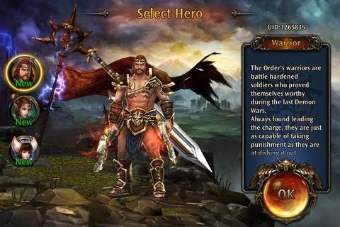 Select a Hero