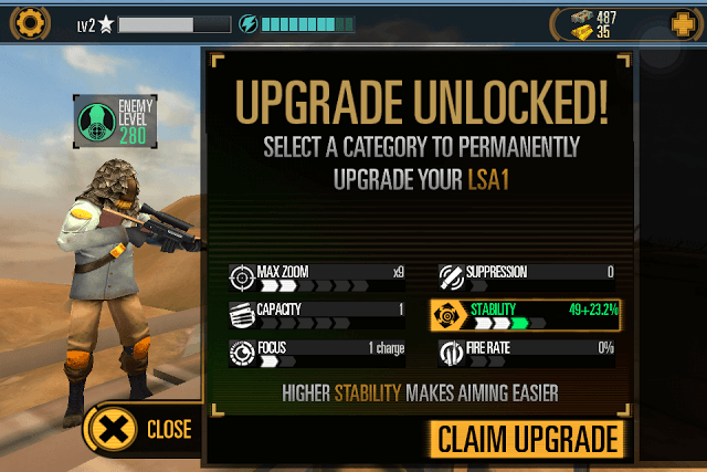 Unlock Weapon Upgrades