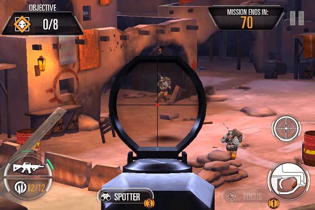 Using Sniper's Scope