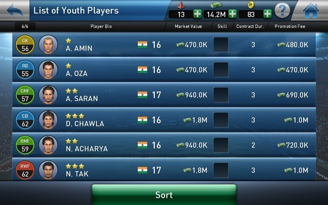 Build your dream team in PES Club Manager