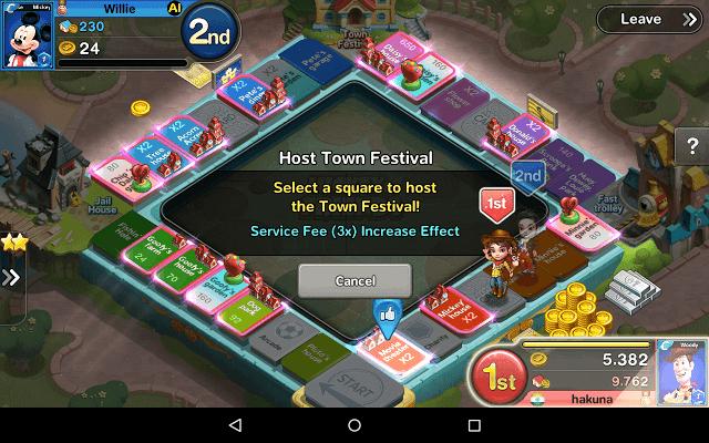 Hosting Town Festival