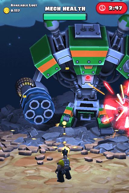 Raid HQ - Battling Giant Robots