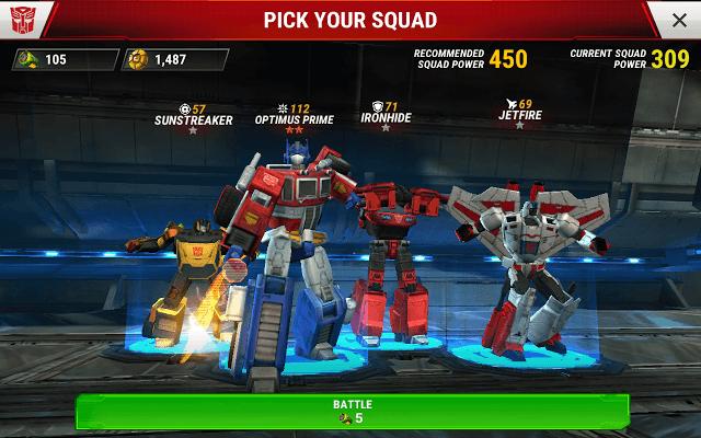 Earth Wars Squad