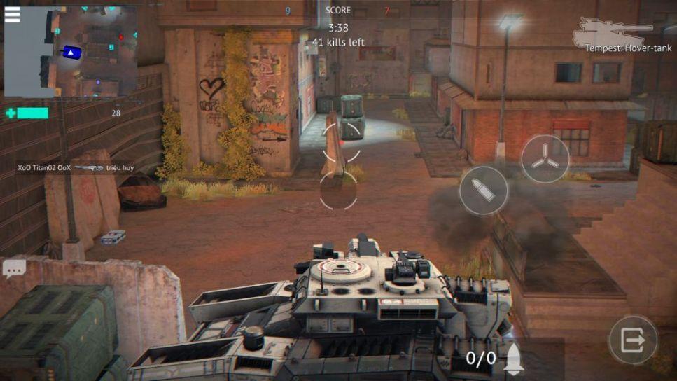 A Tank in D Warfare