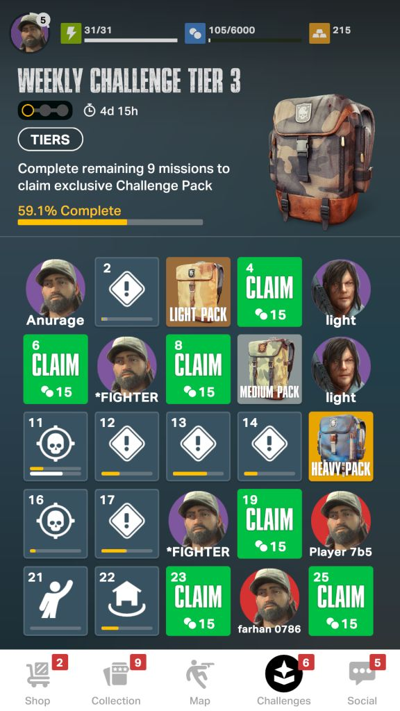 Get Coins from Group Challenges