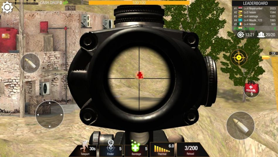 Health pack in Bullet Strike