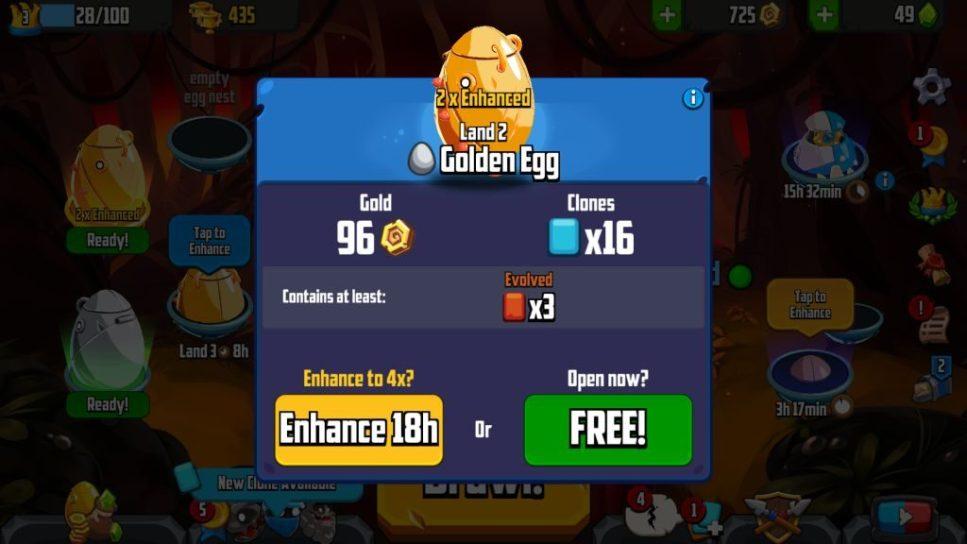 Enhance a Golden Egg