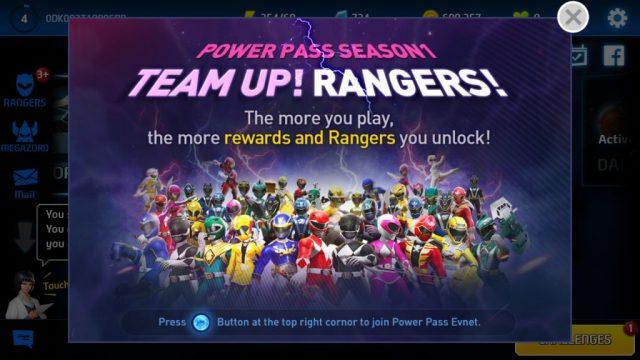 Power Rangers: All Stars Power Pass Event