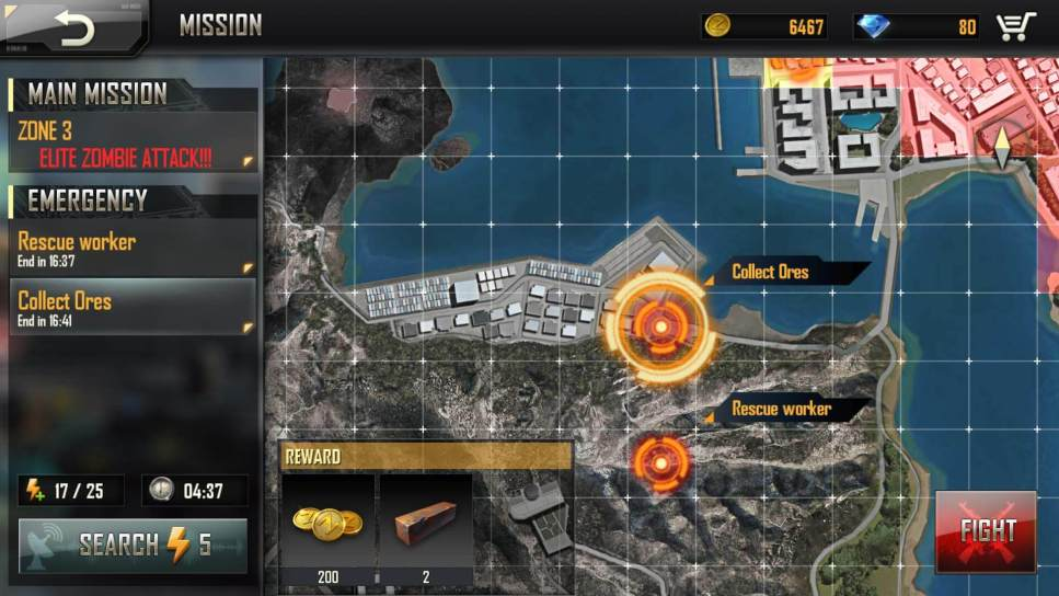 Get Materials from Secondary Missions