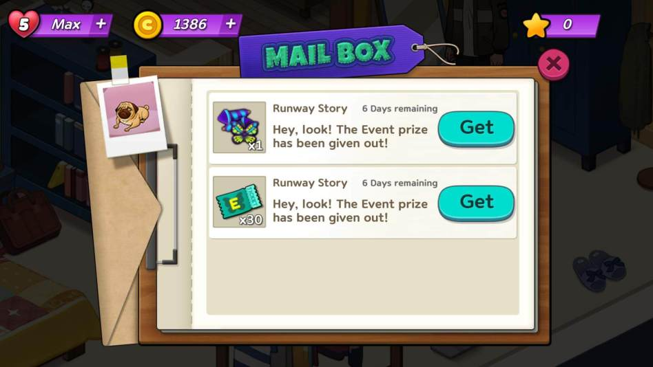 Get Tickets from Event Prize