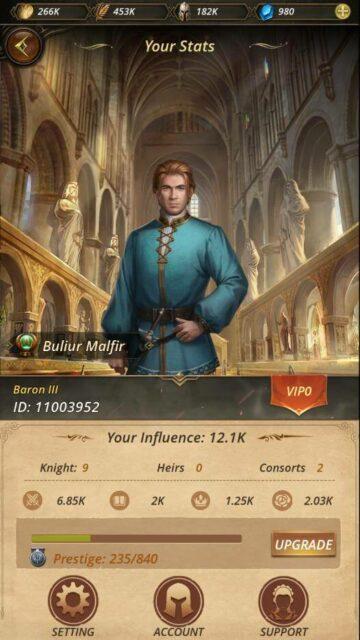 The Royal Affairs Baron Profile