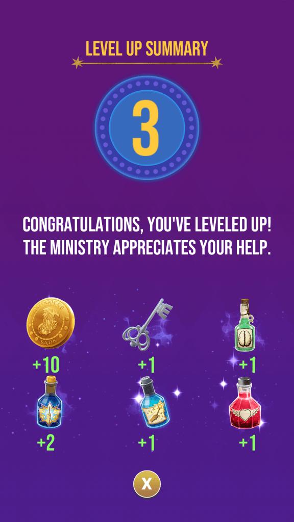 Level Up to Get Rewards