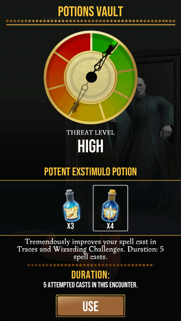 Use Potions for Higher Threat Levels
