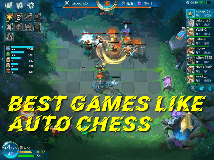 Best Games Like Auto Chess