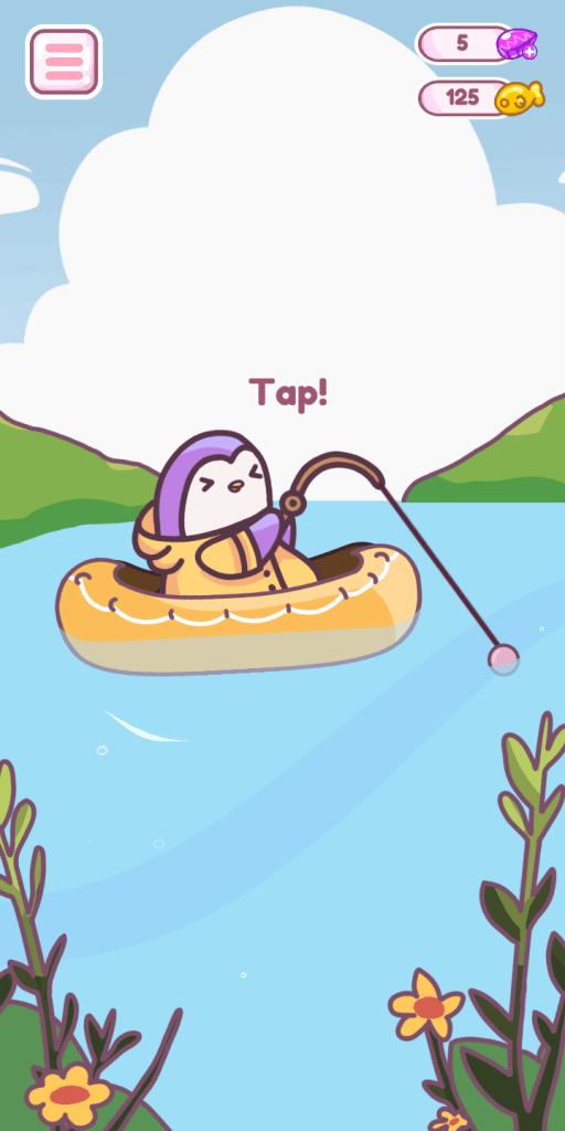 Pingo Park's Fishing Mini Game