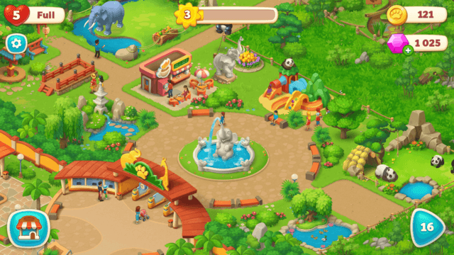 Manage a Zoo in Wildscapes