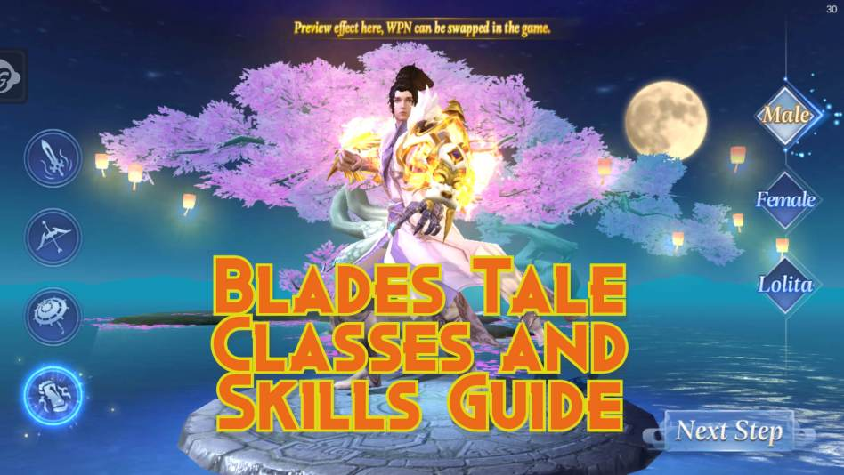Blades Tale Classes and Skills
