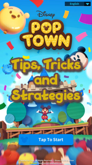 Disney Pop Town Guide: Tips, Tricks and Strategies